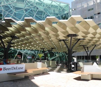 AsClear project Federation Square