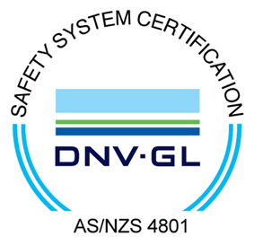 AsClear safety certification AS/NZS 4801