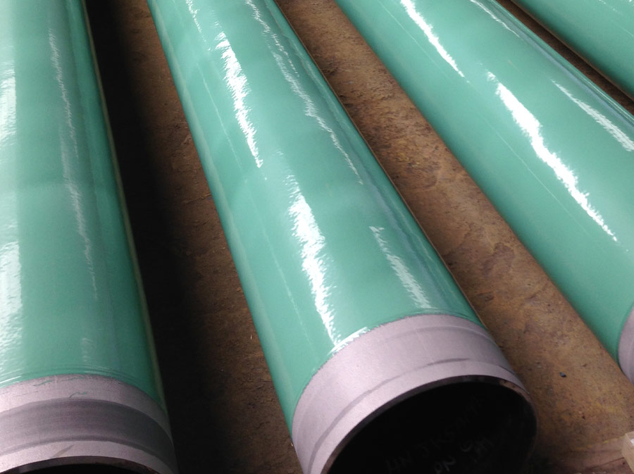 AsClear Blasting and Coating pipes for M80