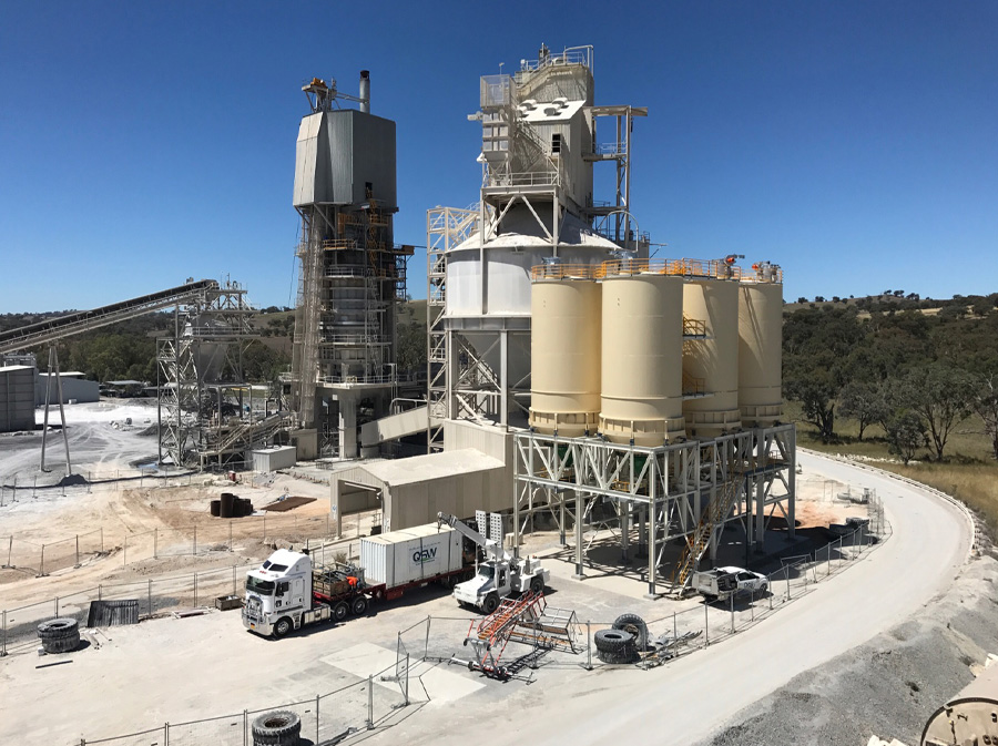 BLasting and Coating work atBeechworth - Galong