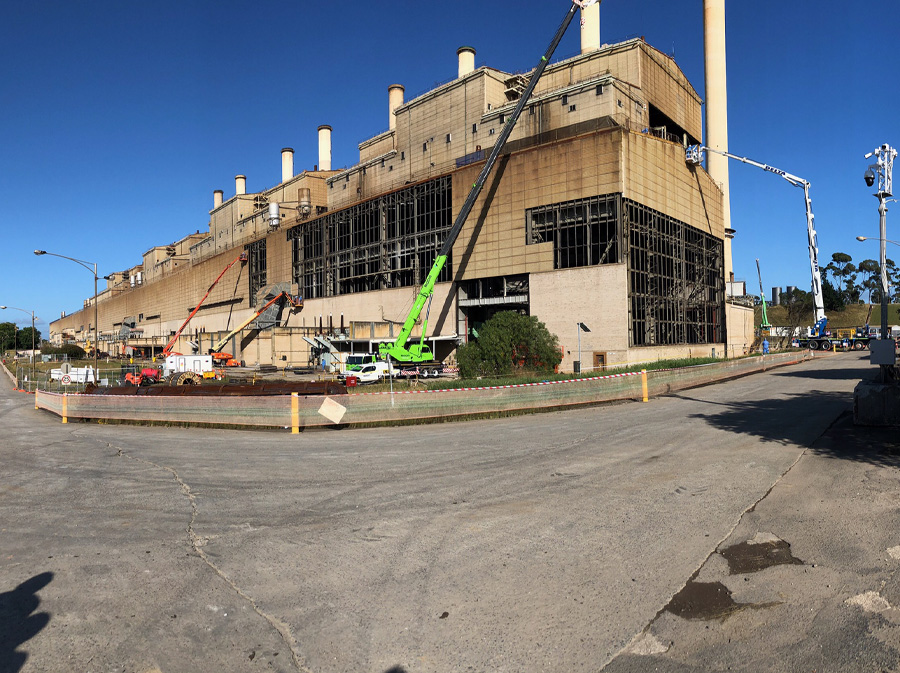 Hazelwood Power Station demolition